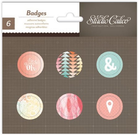 Studio Calico - Sundrifter Collection - Badges