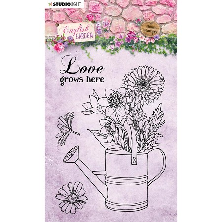 Studio Light - English Garden - Watering Can Clear Stamp #430