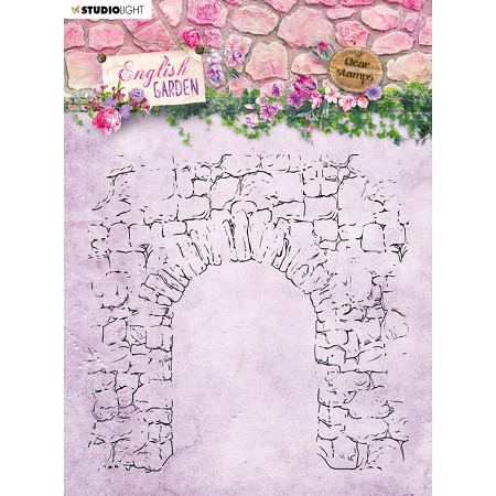 Studio Light - English Garden - Stone Archway Clear Stamp #434