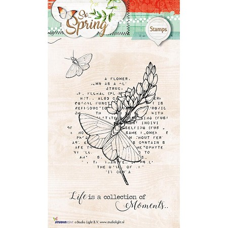 Studio Light - So Spring - Moments Butterfly Clear Stamp