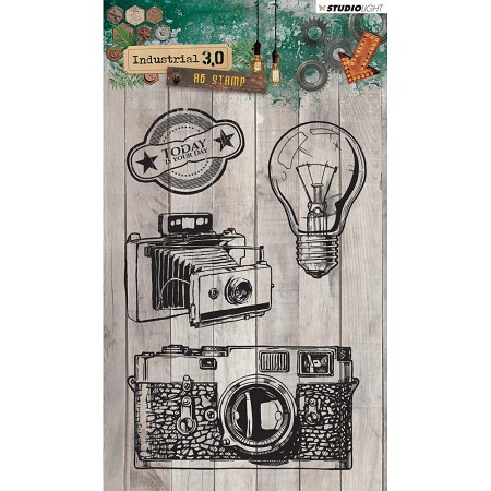 Studio Light - Industrial 3.0 - Cameras Clear Stamp