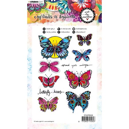 Studio Light - Mariposas Art by Marlene Clear Stamp No. 49