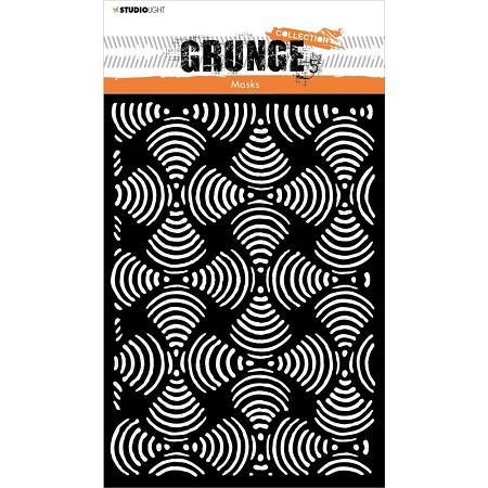 Studio Light - Grunge 5.0 - Sound Waves Stencil No. 53
