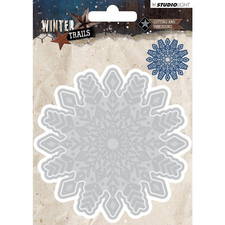 Studio Light - Die - Winter Trails - Snowflake Die