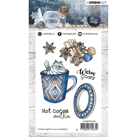 Studio Light - Snowy Afternoon - Hot Cocoa Mug Clear Stamp