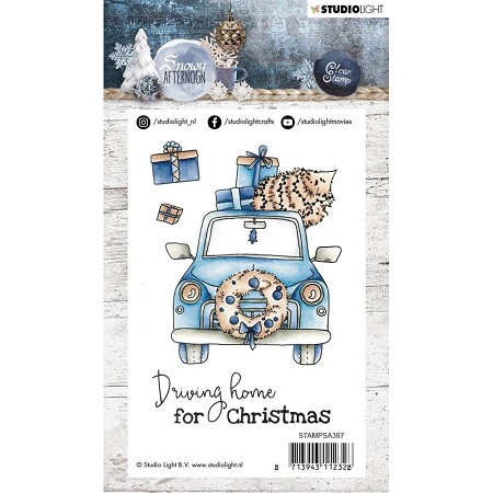 Studio Light - Snowy Afternoon - Christmas Car Clear Stamp