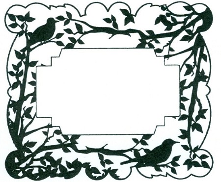 Sue Wilson Designs - Cling Mounted Stamp - Spring Birds