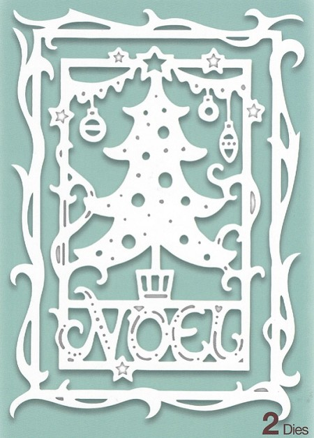Creative Expressions - Die - Paper Cuts Collection Christmas Tree