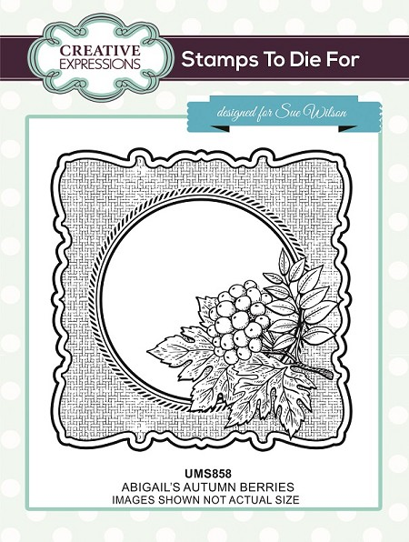 Sue Wilson Designs - Cling Mounted Stamp - Abigail's Autumn Berries