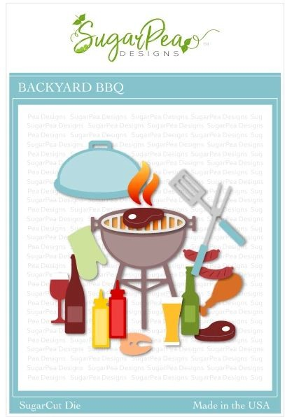 SugarPea Designs - Backyard BBQ SugarCut Die