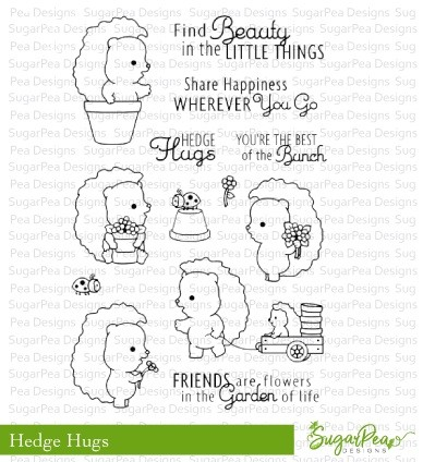 SugarPea Designs - Hedge Hugs Clear Stamps