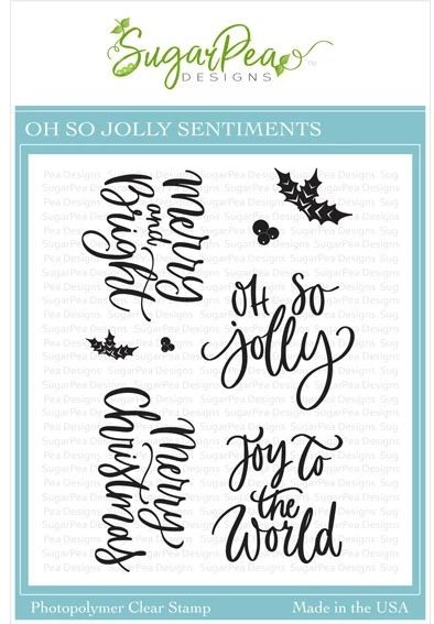SugarPea Designs - Oh So Jolly Clear Stamps