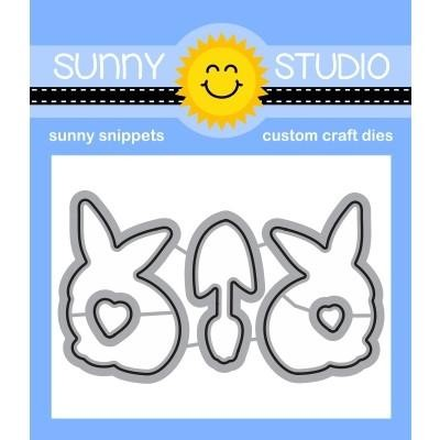 Sunny Studio - Cutting Dies - Spring Greetings