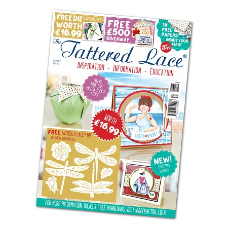 Tattered Lace - Tutorial Magazine & Die Kit - Issue 57