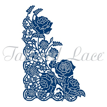 Tattered Lace - Dies - Ornamental Lace Rose Corner