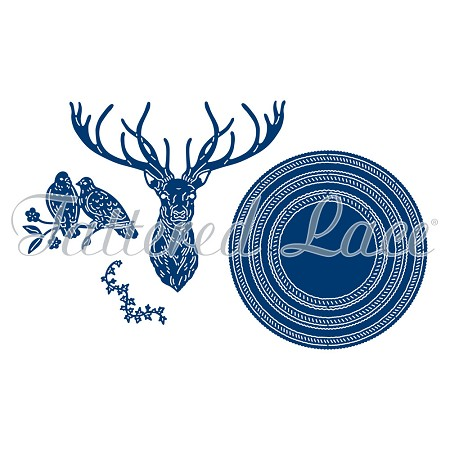 Tattered Lace - Dies - Woodland Wonder Stag