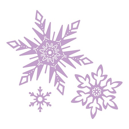 Tattered Lace - Dies - Disney Frozen Snowflakes