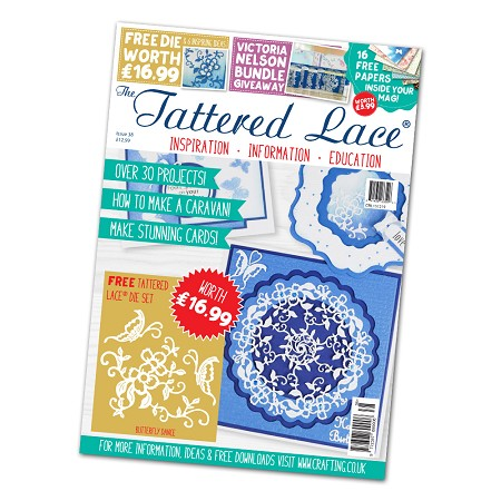Tattered Lace - Tutorial Magazine & Die Kit - Issue 38