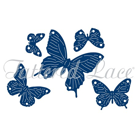 Tattered Lace - Dies - Interlocking Butterflies :)