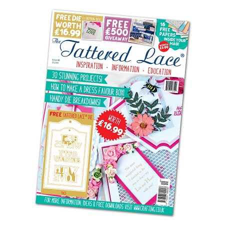 Tattered Lace - Tutorial Magazine & Die Kit - Issue 40