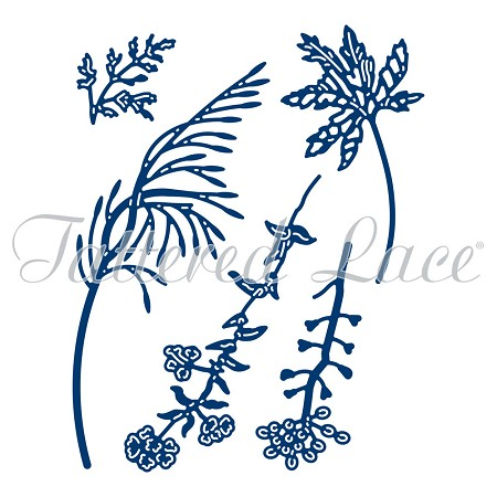Tattered Lace - Dies - Forest Flowers