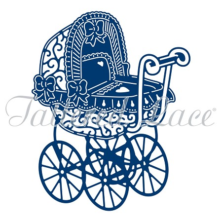 Tattered Lace - Dies - Essentials 2016 Pram