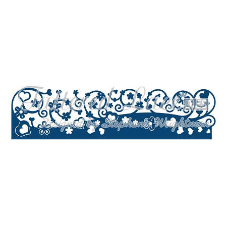 Tattered Lace - Dies - Sweetness Border