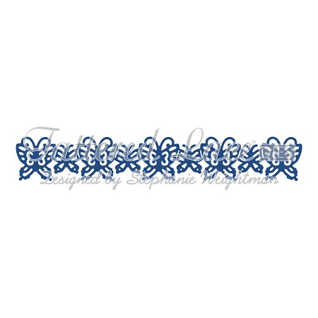 Tattered Lace - Dies - Butterflies Border
