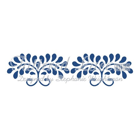 Tattered Lace - Dies - Floral Swirls Border