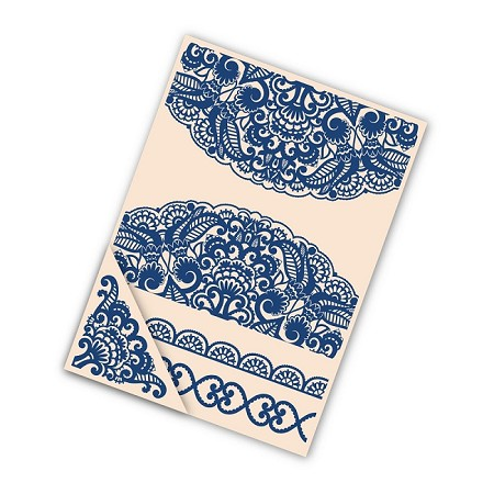 "Tattered Lace - Embossing Folder Set - Doily (set of 4) (8.5"")"