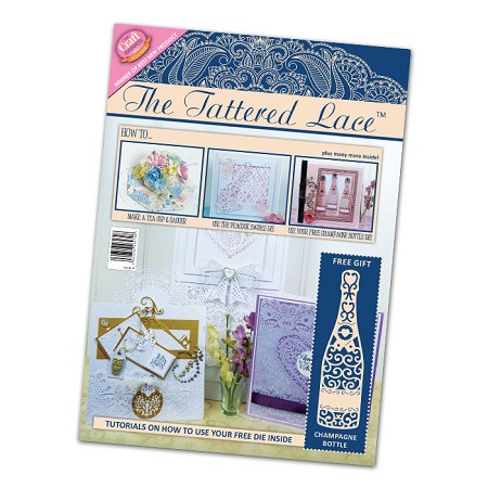 Tattered Lace - Tutorial Magazine & Die Kit - Issue 04