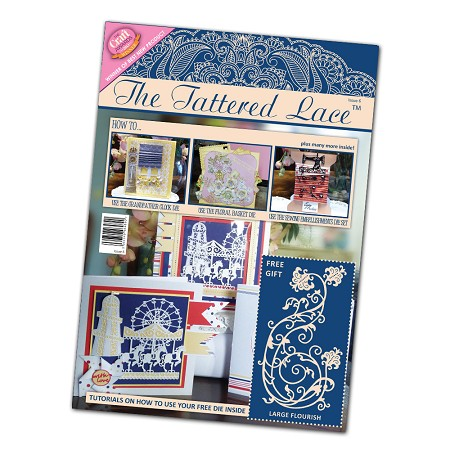 Tattered Lace - Tutorial Magazine & Die Kit - Issue 06