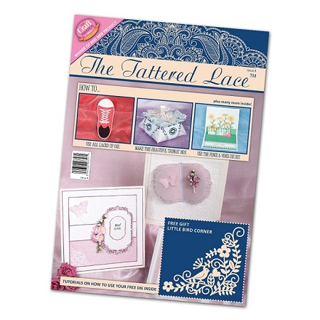 Tattered Lace - Tutorial Magazine & Die Kit - Issue 09 :)