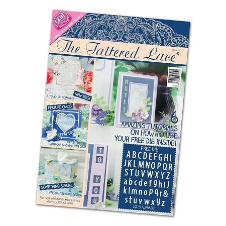 Tattered Lace - Tutorial Magazine & Die Kit - Issue 15