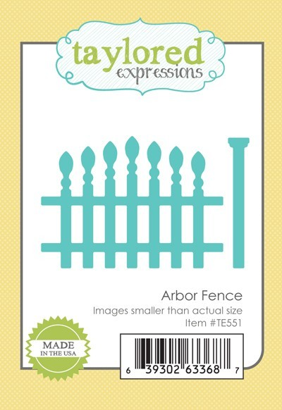 Taylored Expressions - Cutting Die - Arbor Fence