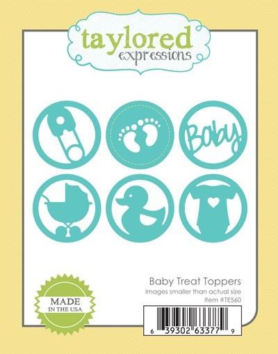 Taylored Expressions - Cutting Die - Baby Treat Toppers