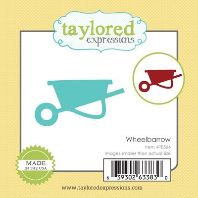 Taylored Expressions - Cutting Die - Little Bits Wheelbarrow