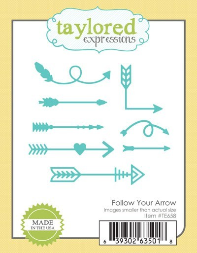 Taylored Expressions - Cutting Die - Follow Your Arrow