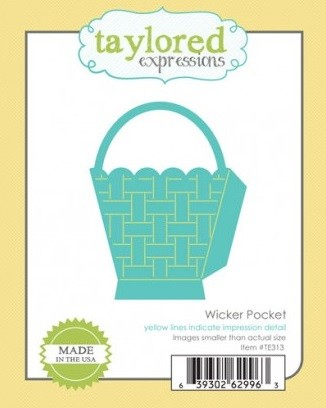Taylored Expressions - Die - Wicker Pocket