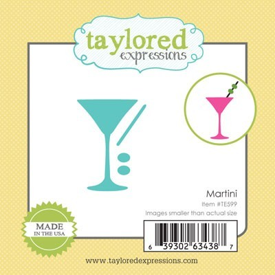 Taylored Expressions - Cutting Die - Little Bits Martini