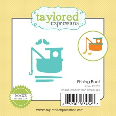 Taylored Expressions - Cutting Die - Little Bits Fishing Boat
