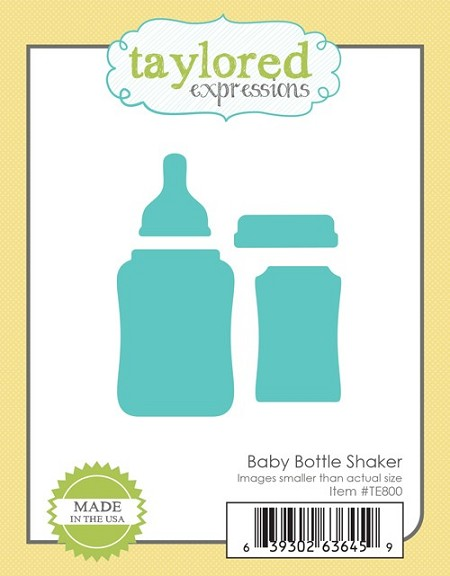 Taylored Expressions - Cutting Die - Baby Bottle Shaker