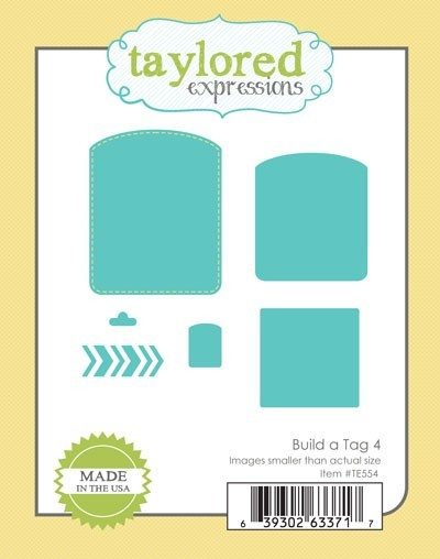 Taylored Expressions - Cutting Die - Build A Tag 4