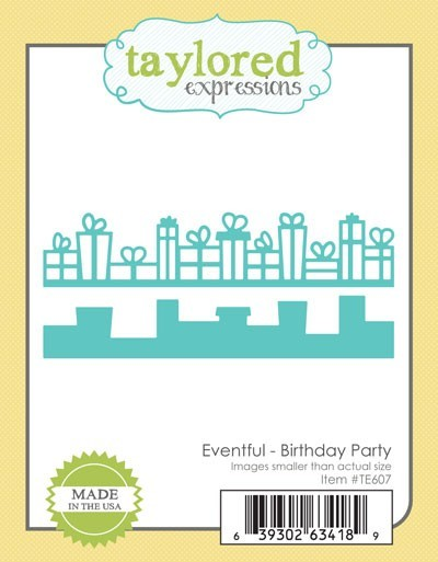 Taylored Expressions - Cutting Die - Eventful Birthday Party