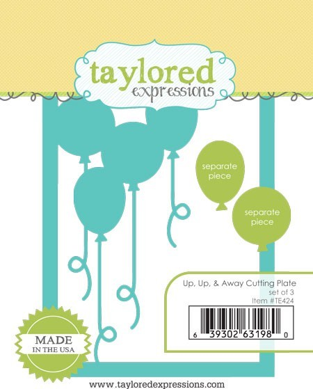 Taylored Expressions - Cutting Die - Up, Up, & Away Cutting Plate