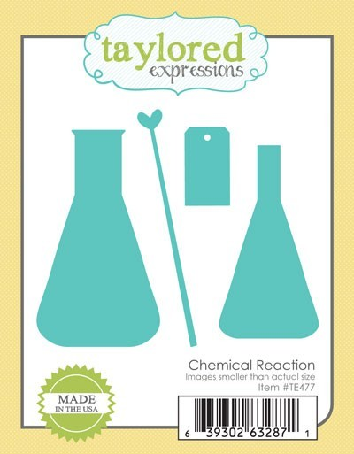 Taylored Expressions - Cutting Die - Chemical Reaction