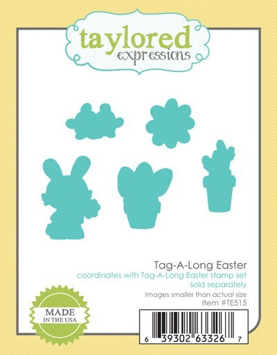 Taylored Expressions - Cutting Die - Tag-A-Long Easter