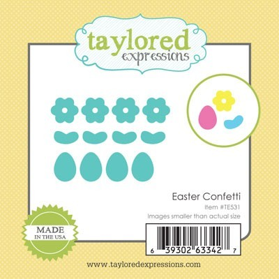Taylored Expressions - Cutting Die - Little Bits Easter Confetti