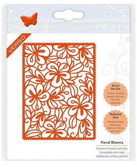Tonic Studios - Cutting Die - Floral Blooms Patterned Panels