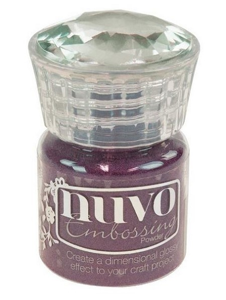 Tonic Studios - Nuvo Embossing Powder - Crushed Mulberry